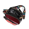 """Ladies Cross Body Mini Bag with """"LOVE"""" Embroidered Strap"""