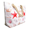 Shells & Starfish Rhinestones Ladies Tote Bag - LTBG1212
