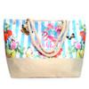 Summer Flower -Aloha- Rhinestone Ladies Tote Bag - LTBG1206