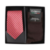 24-Boxes Assorted Men's Poly Woven Tie and Dress Socks Box Sets - PTS5000
