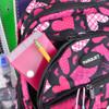 Pink Heart Pattern Novelty Backpack-NVBP-34