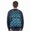 Blue Dots Pattern Novelty Backpack-NVBP-22