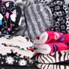 60 pairs Women's Assorted Warm & Cozy Indoor Non Slip Grip Slipper Bootie - WFWB-60ASST