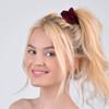 12pc Solid Velvety Scrunchie Hair Ties - 12SHS-SLD-3