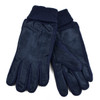 Men's Genuine Leather Winter Gloves with Soft Acrylic Lining - MWG01