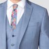 """2.25"""" Floral Cotton Slim Tie - NVC-FLORAL4"""