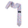 """2.25"""" Floral Cotton Slim Tie - NVC-FLORAL5"""