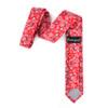 """2.25"""" Paisley Cotton Slim Tie - NVC-PAISLEY"""