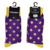 6pairs Men's Cotton Fleur-de-lis Socks FLS01