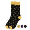 Men's Cotton Fleur-de-lis Socks - FLS02