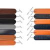 Men's Genuine Leather Sliding Buckle Ratchet Belt - MGLBB4