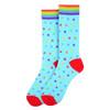 Men's Rainbow Stars Novelty Socks - NVS19580