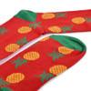 Women's Pineapple Novelty Socks - LNVS19415-HPK