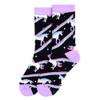 Women's Unicorn Novelty Socks - LNVS19430-BK