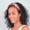 12pc Assorted Criss Cross Floral Headbands