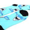 Men's Shark Novelty Socks - NVS19582-BL