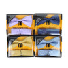 12pc Pack Assorted Neat Men's Bow Tie & Matching Hanky BTHB1000NT
