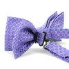 12pc Two Pack Assorted Men's Fancy Poly Woven Banded Bow Tie Duo Sets (FBB2X/ASST)
