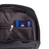 Black Crossbody Shoulder  Sling Bag  with USB Charging Port- FBG1845