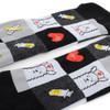 Health Care Heroes -Nurse Llama - Premium Socks - NVSX2009-BK