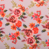 Pink Floral Print Fashion Face Mask - PPE21
