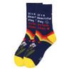 12pc Women's Assorted Health Care Hero Socks- 12LNVS19600-CV