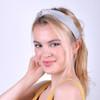 12pc Assorted Ladies Criss Cross Solid Headbands - 12EHB1007-SLD