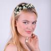 12pc Assorted Ladies Spring/Summer Black Headbands - 12EHB1020