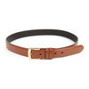Genuine Leather Men's Dressy  Belt Duo Pack Square Buckle - MGLD18061-DUO