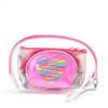 Ladies Sparkle Heart Makeup Bag 3pc Set Cosmetic & Toiletry Bags - LNCTB1726