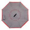 Double Layer Houndstooth Inverted Umbrella - UM18081