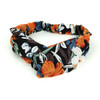 12pc Assorted Spring/Summer Criss Cross Headband - 12EHB1021