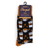 12pairs Men's Coffee Cups Novelty Socks NVS1752-53