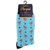 Men's Flamingos Novelty Socks NVS1786-87