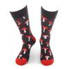 Men's Mushroom Novelty Socks - NVS19594-CHAR