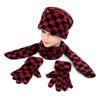 6pc Pack Women's Fleece Winter Set WSET8040