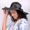 """Women's 5"""" Brim Bow Floppy Hat LFH1116"""