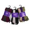 12pc Assorted Pack Scottish Acrylic Winter Scarf - AKS10411ASST