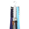 Non-Slip Foam Chrome Plated Tie Rack TR20