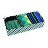 Fancy Multi Colored Socks Striped Gift Box (3 Pairs in Box) MFS1017