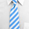 Men's Microfiber Poly Woven College Tie MPWC2400
