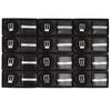12pc Men's Black Wallet & Belt Set WB2010BK/ASST