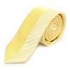 "Yellow Microfiber Poly Woven 2.25"" Slim Panel Tie - MPPW1612"