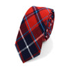 "Men's Plaid Flannel 2.25"" Cotton Slim Tie - MPPW1637"