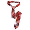 """Men's Plaid Flannel 2.25"""" Cotton Slim Tie - MPPW1641"""