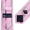 "Vine Pattern Microfiber Poly Woven 2.25"" Slim Panel Tie MPPW1633"