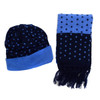 Kid's Winter Knitted Pom Beanie Scarf with Tassel  and Hat Set - KKWS1724