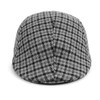 Fall/Winter Gray Plaid Ivy Hat - IFW1724-1