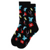 Women's Doctor/Nurse Pattern Novelty Socks LNVS1748