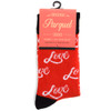 Women's Love Novelty Socks LNVS1757-58